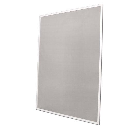Fliegengitter Fenster 100x120cm weiss Insektenschutz