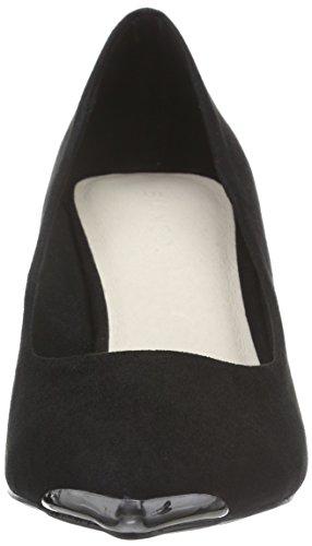 Noir Schwarz Low Bianco Escarpins Black 10 Pump Jja16 Femme xXFqqPBY