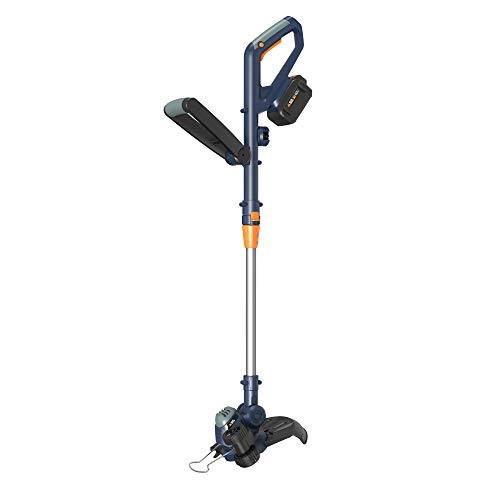 BLUE RIDGE BR8160U 40V 2.0Ah 12'' Cordless Grass Trimmer/String Trimmer/Edger Battery and Charger Included