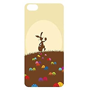 LIMME Cute Rabbit Pattern PC Back Case for iPhone 5C