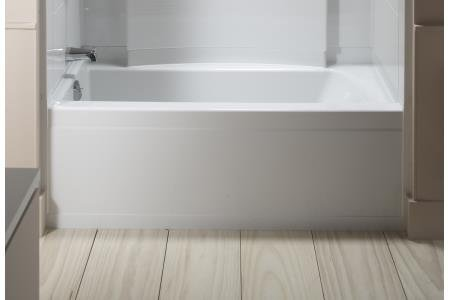 Sterling Accord 32 Bathtub With Left Hand Drain Finish