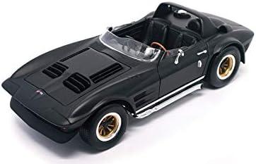 1964 CHEVROLET CORVETTE GRAND SPORT ROADSTER MAT BLACK 1:18 ROAD SIGNATURE 92697