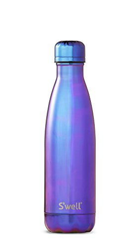 - S'well Vacuum Insulated Stainless Steel Water Bottle, 17 oz, Ultraviolet