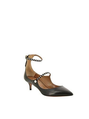 AQUAZZURA Femme Cuir Chaussures Talons À Noir NOLMIDP0NAP000 HFqpP1