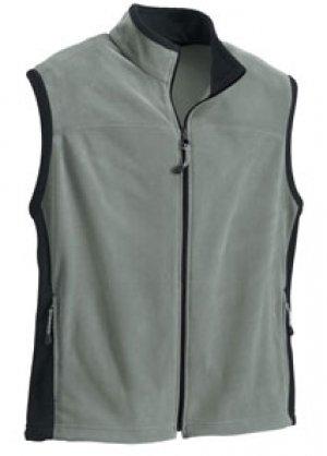 Big Mens Microfleece Vest - Premium Collection