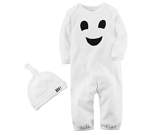 Carter's Baby 2-Piece Ghost Hat And Jumpsuit -
