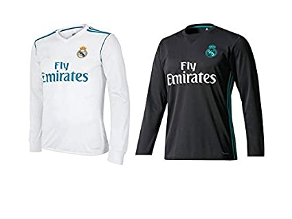 new arrival b3b01 04f95 Real Madrid Long Sleeves Home and Away Combo (only Jersey)