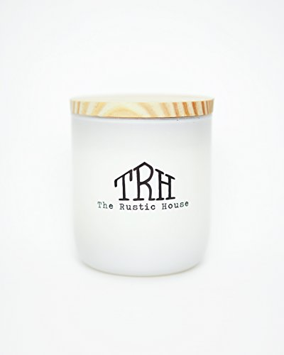 Signature Scent | Hand Made | Dye + Additive Free | Environmentally Friendly | Strong Scent Throw | Soy Wax | Glass Candle | Signature Collection | The Rustic House