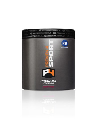 Proven4 Pregame Formula NSF Certified for Sport Fruit Punch
