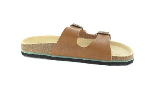 BIOPED - Unisex Pantoletten - Ibiza - Natur Schuhe in Übergrößen