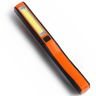 [LEDemain] Wiederaufladbare mit Micro-USB, Ultrahell Tragbare 2in1(1W auf der Oberseite + COB 3W) LED-Arbeitsleuchte Taschenlampe, Sehr geeignet für Heim, Auto, Camping, Notfall-Kit, Werkstatt usw.