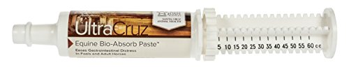 UltraCruz Equine Bio-Absorb Supplement for Horses, 60 ml, Paste, 1/4 Day - Bio Sponge