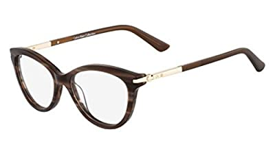 Calvin Klein Collection - CK7983, Cat Eye, acetate, women, BROWN HORN(205 B), 52/16/135