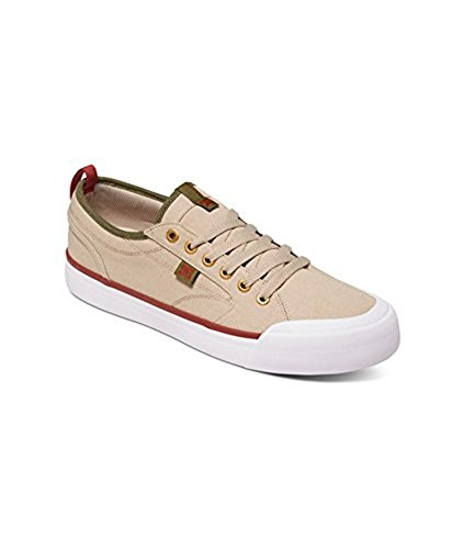 countdown package looking for online DC Men's Evan Smith TX Skate Shoe Tan/Green 3byEWhSK