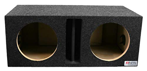 "Bbox E10DV Dual 10"" Vented Divided Chamber Carpeted Subwoofer Enclosure"