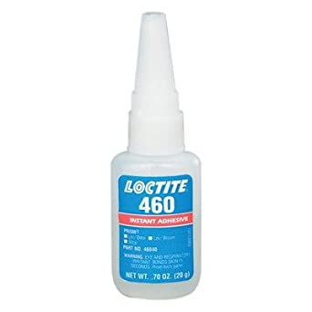 Loctite 135463 Clear 46040 460 Prism Low Odor Instant Adhesive, 20 mL Bottle