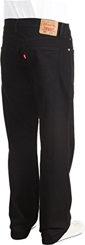 Levi's Men's 559 Relaxed Straight Fit Jean - 34W x 32L - Black - Stretch