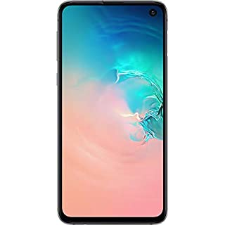 Samsung Galaxy S10e, 256GB, Prism White - Fully Unlocked (Renewed)