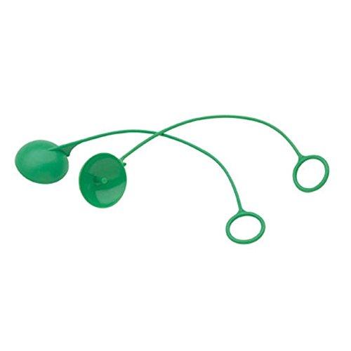 Haws 9094, Green Polyethylene Plastic Dust Cover for SP12 Emergency Eyewash with Soft-Flo Heads (1 Pair)
