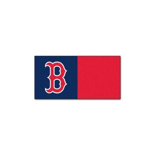Sox Carpet (Fan Mats Boston Red Sox Carpet Tiles,18