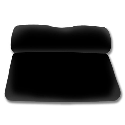 Madjax Front Seat Cover Black for Ezgo TXT RXV 1995-Up ()