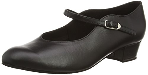 Diamant Women's Model 050 - 1 1/16'' (2.8 cm) Block Heel Shoe, 7 M US (4.5 UK) by Diamant