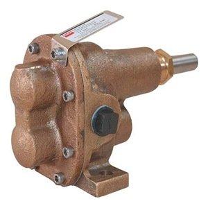 Dayton 4KHH6 Rotary Gear Pump Head, 1 In., 1 HP
