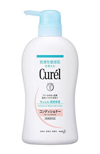 Curel JAPAN Japanese Skin Care Curel Conditioner Pump 420ml by Curel
