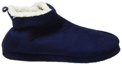 W407 Blu Scuro Pantofole Donna A Collo Trento De Alto Fonseca 8Ew4wR