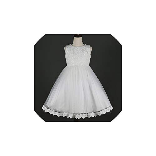 Girl Costume Lace Dress Style Embroidery Clothes for