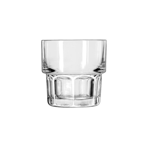 Stackable Rocks Glass - Libbey 15661 Gibraltar Stackable Rocks, 7 oz, S, Clear (Pack of 36)