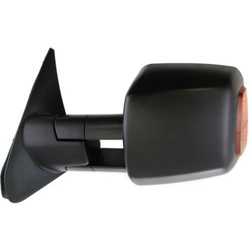 TO1321243 TO1320243 MAPM Set of 2 Left /& Right Side Towing Mirror Power Operated Heated Textured Black With Signal Light In-Housing /& Blind Spot Corner Glass For Toyota Tundra 2007-2013