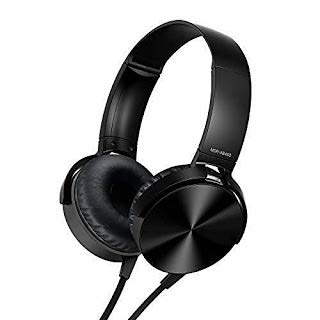 Generic Extra Bass On-Ear Wired Headphones