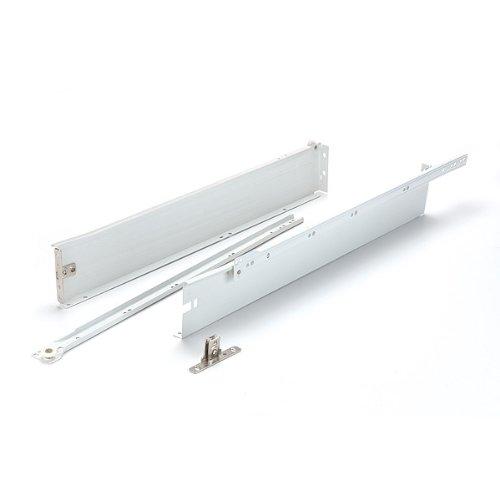 Metal Box System for Drawers w/slides 3-1/4