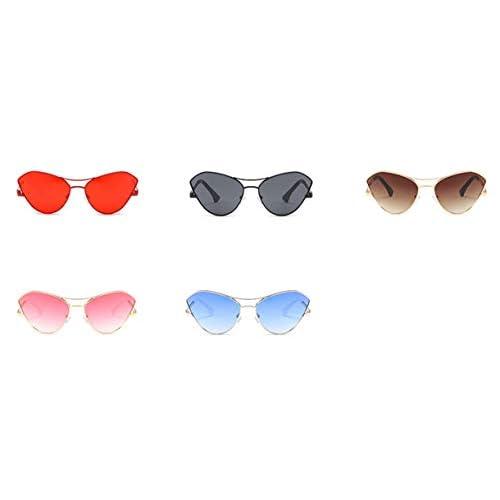 Männer oder Frauen Übergröße Vintage Klassiker Stil Sonnenbrille Einzigartig