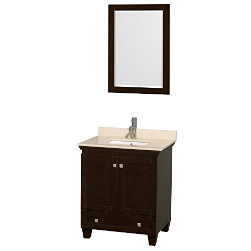 Wyndham Collection Acclaim 30 inch Single Bathroom Vanity in