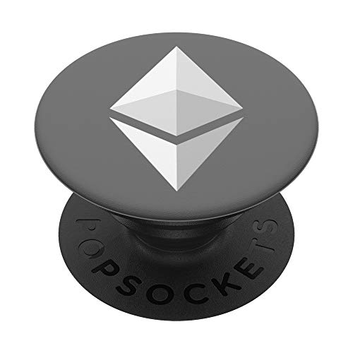 Ethereum Cryptocurrency Crypto Coin PopSockets PopGrip: Swappable Grip for Phones & Tablets