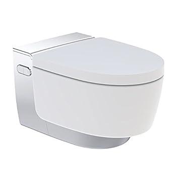 Wc Japonais Wc Suspendu Lavant Aquaclean Maïra Blanc Chromé Geberit 146 218 21 1