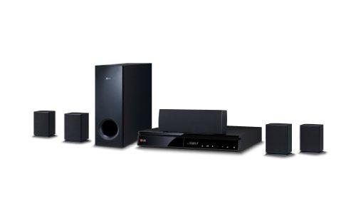 LG BH6240S 5.1 3D Blu-ray Heimkinosystem (1000 Watt, 1080p Upscaling, Bluetooth, Smart TV, Internetradio, Spotify) schwarz