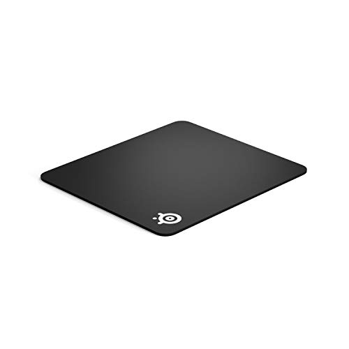 (SteelSeries QcK Gaming Surface - Large Thick Cloth - Best Selling Mouse Pad of all Time - Peak Tracking and Stability - Optimized For Gaming Sensors)