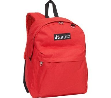 Everest Red Classic Backpack, Outdoor Stuffs