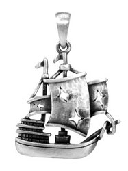 (YTC Summit The Black Pearl Pendant - Collectible Medallion Necklace Accessory)