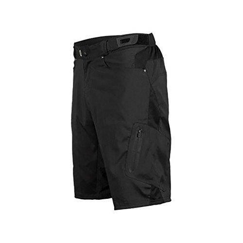 Zoic Ether Shorts + Essential Liner - Men's Black, XL