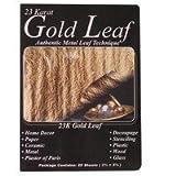 Mona Lisa 23k Genuine Gold Metal Leaf/25 Pk