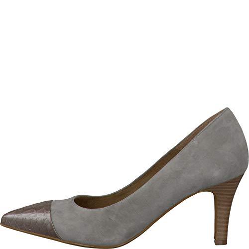 Lt Confortables Grey Croco Femmes Tamaris Chaussures 1 D Pour tqpw1