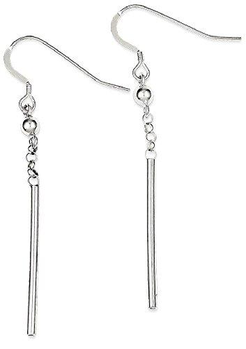 1dcb53fd7 925 Sterling Silver Bar Drop Dangle Chandelier Earrings Fine Jewelry Gifts  For Women For Her