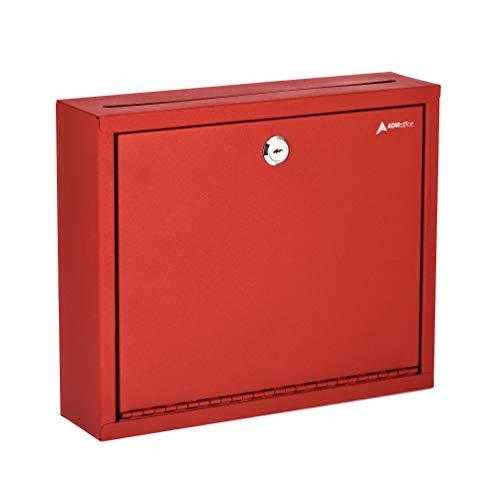 - AdirOffice Multi Purpose, Mailbox, Drop Box, Suggestion Box, Wall Mountable, 3