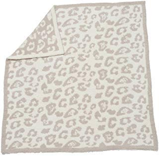 Barefoot Dreams Cozychic Barefoot in the Wild Baby Blanket - Stone / Cream by Barefoot Dreams