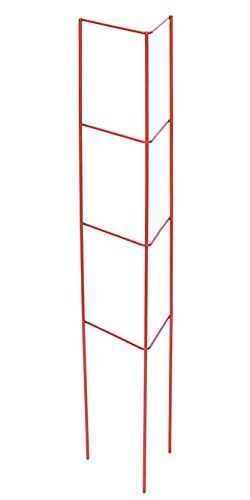 Panacea Products 89767 Garden Plant Support Ladder, Red, Set of 6 by Panacea Products