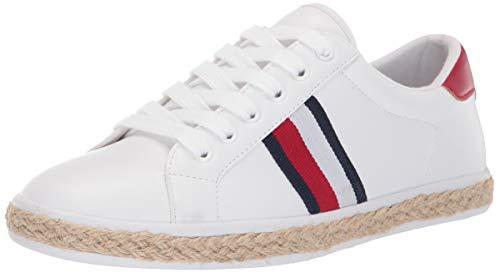 Tommy Hilfiger Women's Filip Sneaker White 7 M US (Tommy Hilfiger Women Clearance)